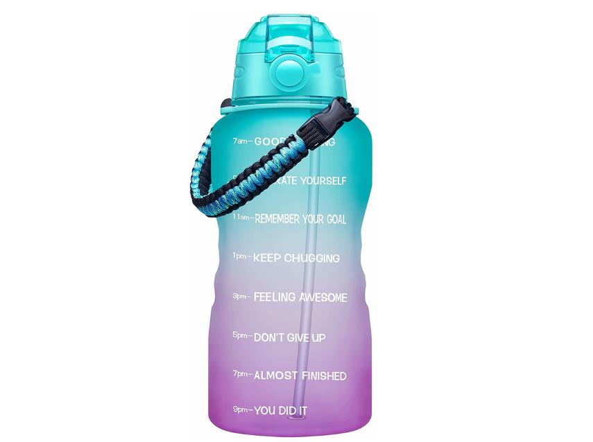 Gallon Motivational Water Bottle